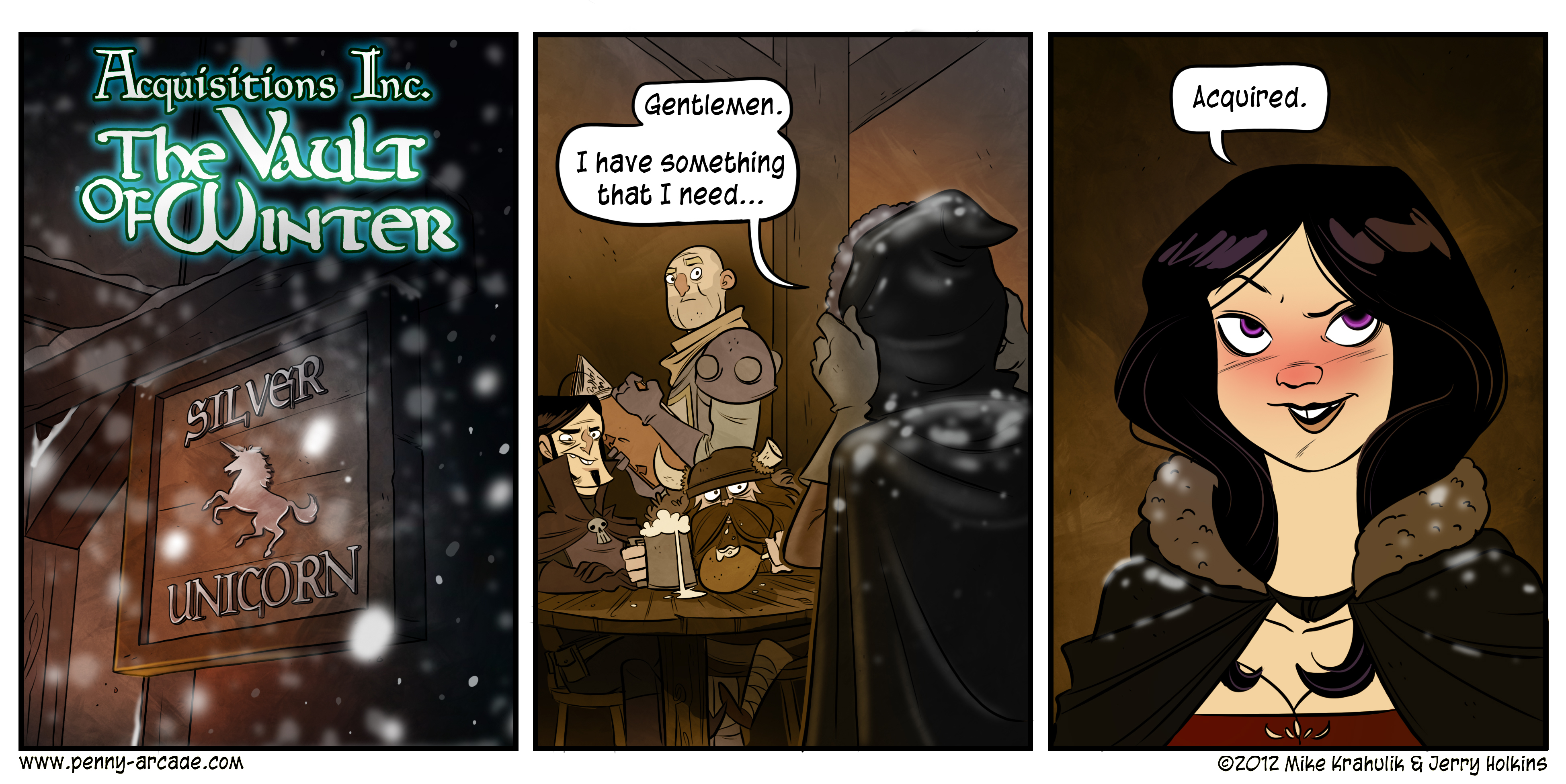 Vault of Winter Page 1