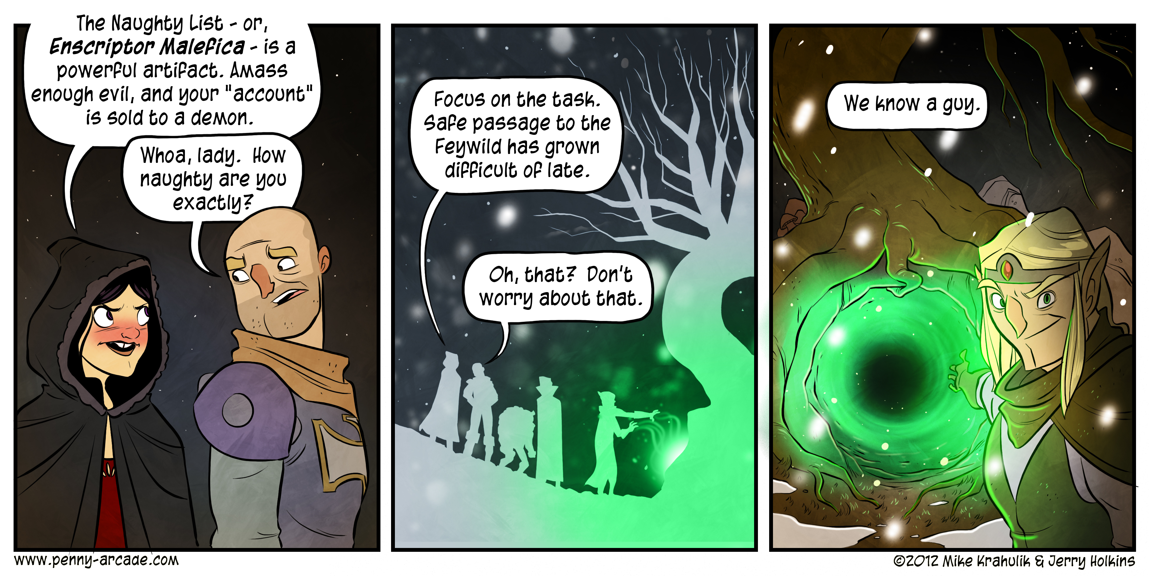Vault of Winter Page 3